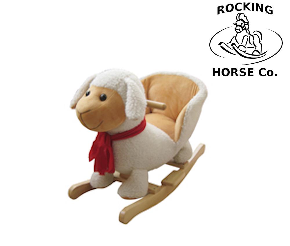 Sensational Details About New Plush Lamb Rocking Chair Animals Sheep On Wooden Rockers With Sound Effects Inzonedesignstudio Interior Chair Design Inzonedesignstudiocom