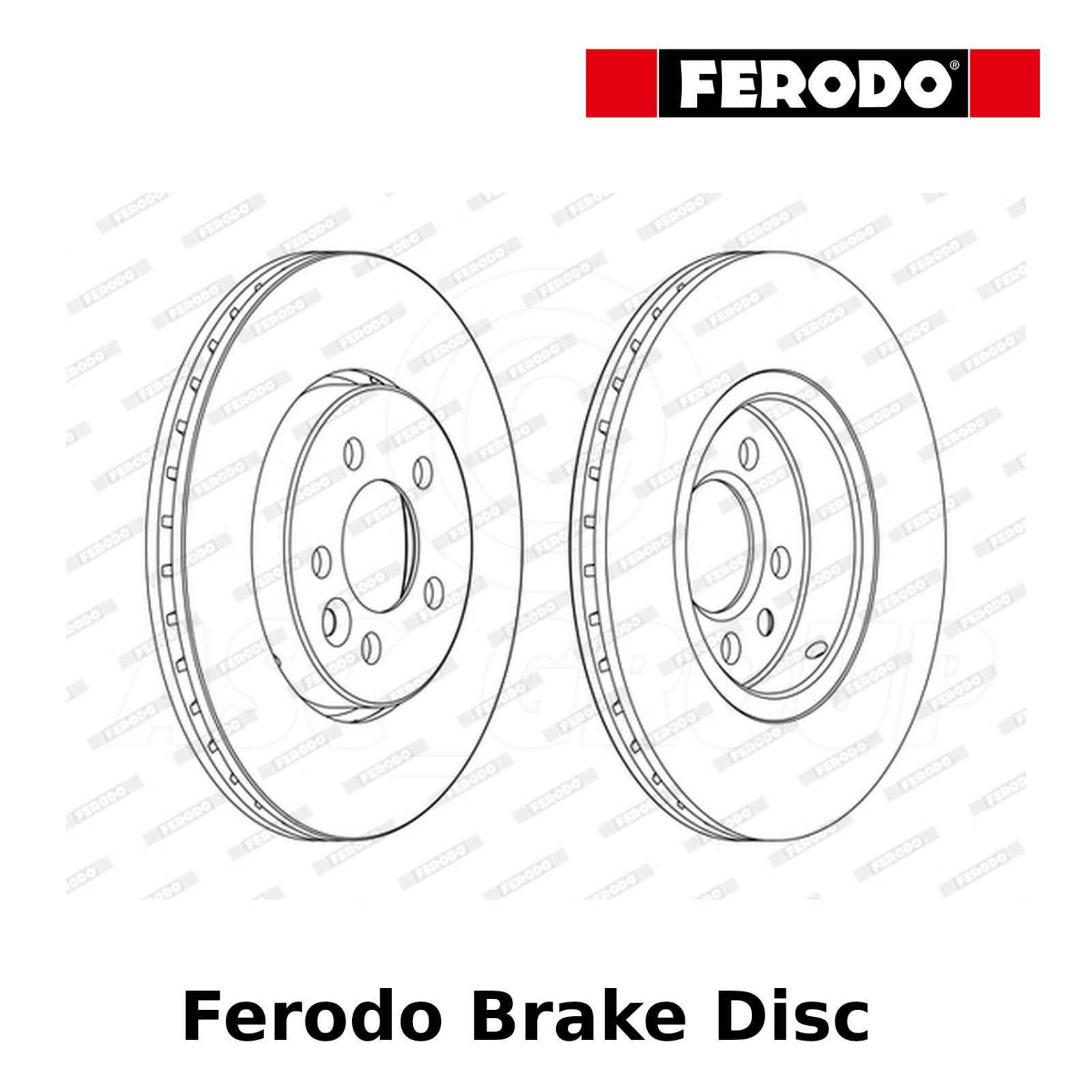 NBD389 Discos De Freno Delantero
