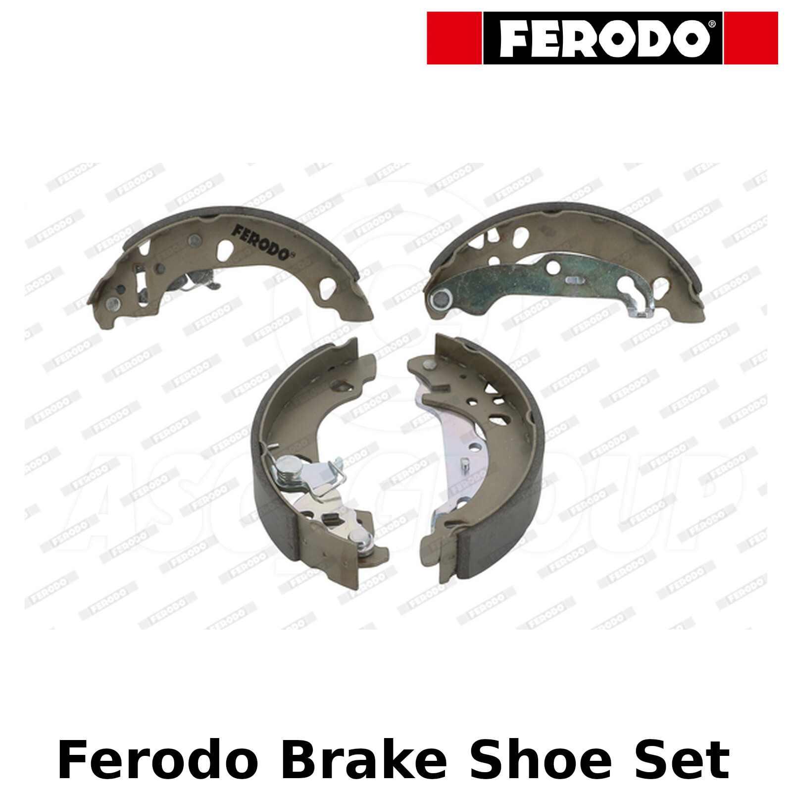 Rear Delphi brake shoes for Drums FORD FIESTA 1.0i 1.25i 16 V 1.3i 1.4i 16 V 1.6