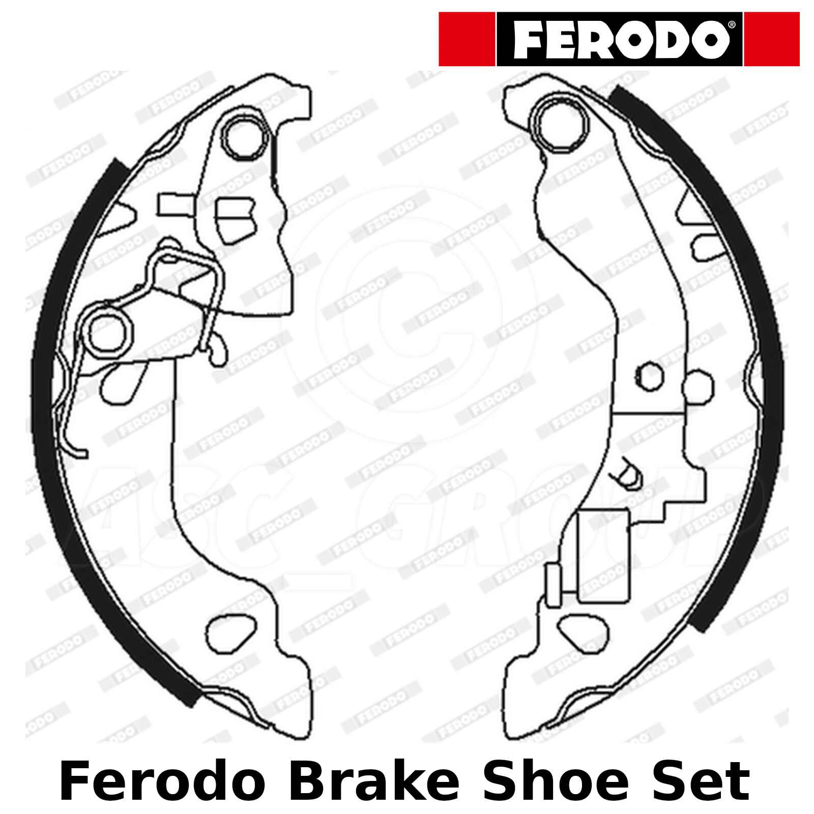 Ferodo Fiat Punto 1.2 Front Brake Discs And Pads Fit Bosch Brake System Replace