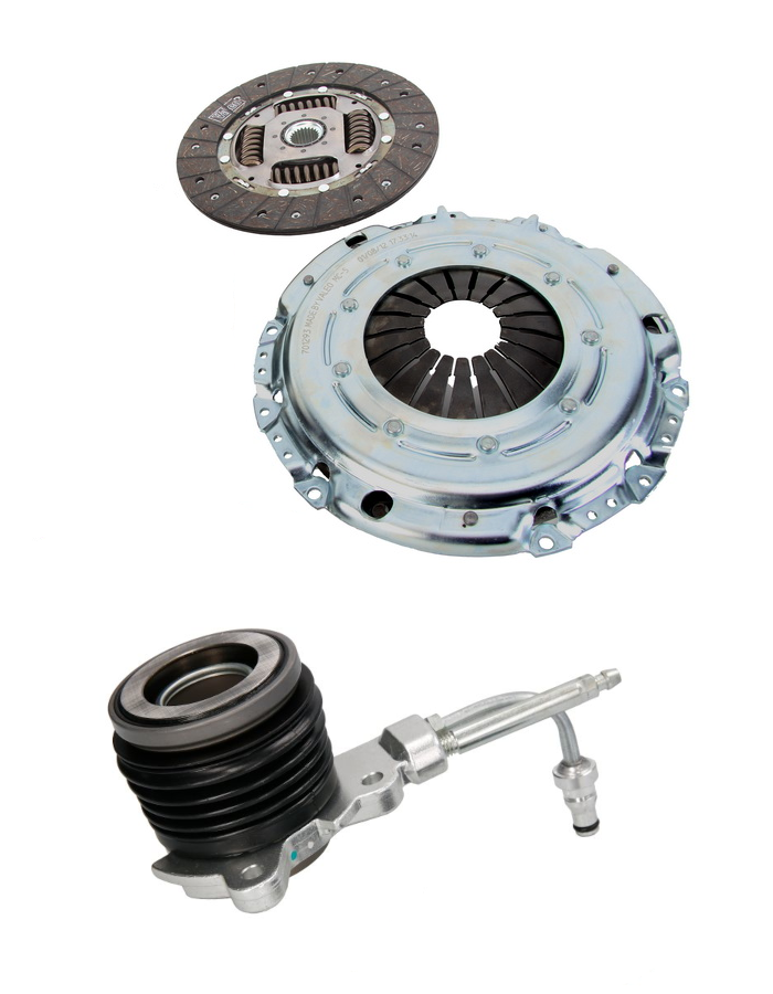Clutch Kit for Solid Flywheel + CSC - fits Ford Galaxy, Seat Alhambra, VW Sharan