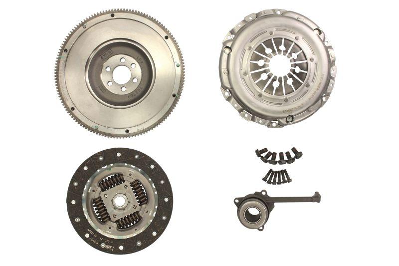 Clutch + Solid Flywheel Conversion Kit - fits Audi, Seat, Skoda, VW 2.0 TDi +CSC