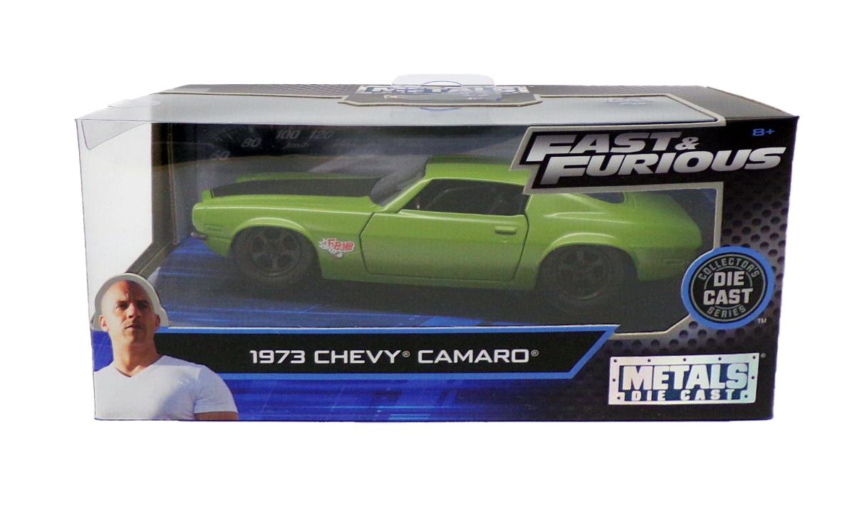 Fast /& Furious Chevy JADA 1:32 Dom/'s Chevrolet Camaro F-Bomb