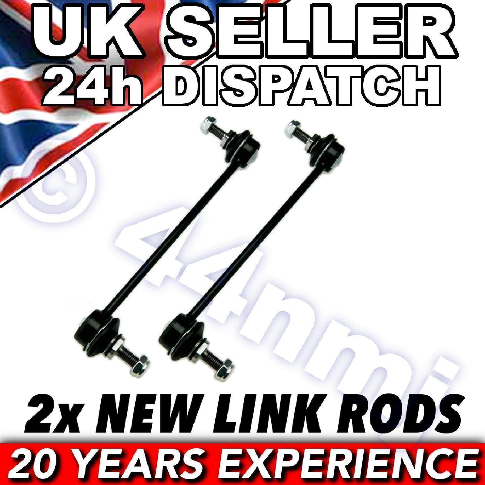 For Toyota Avensis 97-03 Front ROLL BAR DROP LINK RODS x 2