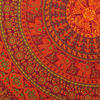Large Queen Burgundy Red Elephant Indian Mandala Tapestry Bedspread Beach Boho D 5