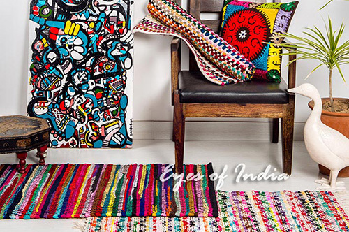 History of Rugs in India