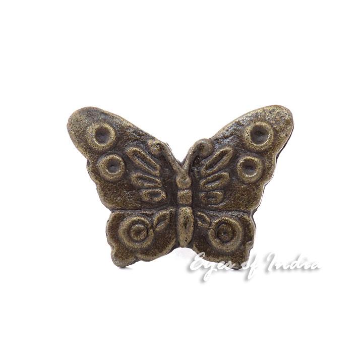 Schmetterling Messing Schrank Tür Kommode Knöpfe Griffe Shabby Chic ...