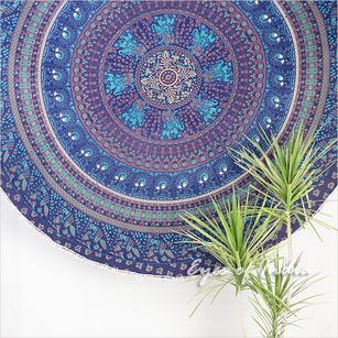 "80"" Roundie Beach Throw Picnic Mat Spread Hippie Mandala Tapestry Boho Bohemian"