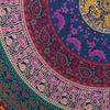 "Blue Roundie Beach Mat Boho Bohemian Picnic Mandala Hippie Tapestry Throw - 72"" 6"
