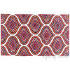 Multicolor Chindi Braided Colorful Woven Accent Area Rug Carpet - 3 X 5 ft 2
