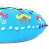 "Blue Decorative Round Floor Pillow Cushion Cover Seating Meditation Throw Indian Bohemian Boho - 24"" 7"