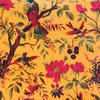 "Yellow Orange Velvet Colorful Decorative Bird Throw Sofa Cushion Boho Bohemian Couch Pillow Cover - 16"", 20"", 24"" 3"