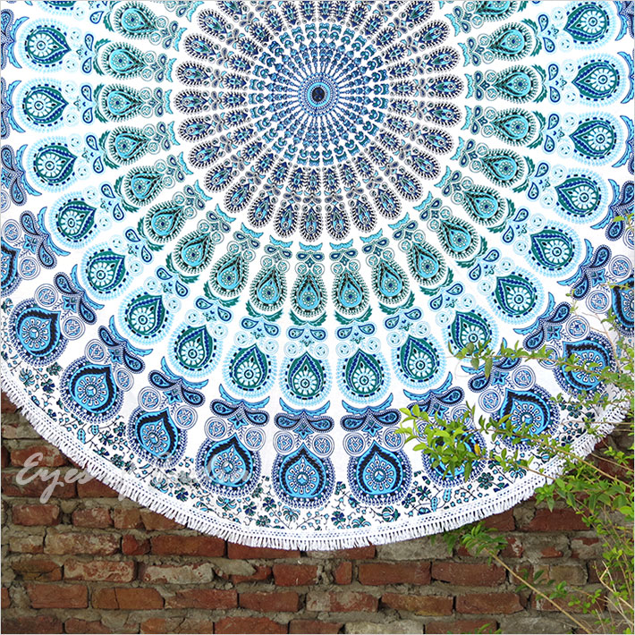 Vintage Round Tapestry Mandala Boho Hippie Tapestry Beach Mats Indian Towel Spare No Cost At Any Cost Smart Home Home Automation Modules