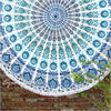 "Mandala Roundie Beach Boho Picnic Spread Hippie Bohemian Tapestry - 80"" 1"