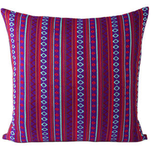 Purple Red Dhurrie Moroccan Kilim Colorful Decorative Sofa Throw Couch Pillow Cushion Cover - 16, 24""