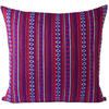 "Purple Red Dhurrie Moroccan Kilim Colorful Decorative Sofa Throw Couch Pillow Cushion Cover - 16, 24"" 1"