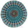"Decorative Seating Boho Mandala Bohemian Round Floor Cushion Dog Bed Throw Meditation Pillow Cover - 32"" 3"