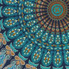 "Blue Round Mandala Floor Pillow Cover Meditation  Seating Throw Hippie Boho Dog Bed - 32"" 8"