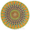 "Decorative Seating Boho Round Colorful Floor Pillow Meditation Cushion Cover Hippie Mandala - 32"" 3"