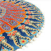 "Decorative Seating Boho Round Colorful Floor Pillow Meditation Cushion Cover Hippie Mandala - 32"" 4"