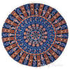 "Colorful Boho Mandala Bohemian Round Floor Seating Meditation Pillow Hippie Cushion Throw Cover - 32"" 3"