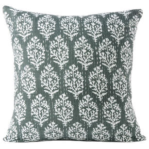 "16"" Gray Grey Kantha Colorful Throw Sofa Cushion Couch Pillow Cover Case Indian"