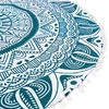 "Green Hippie Boho Mandala Hippie Round Colorful Floor Seating Meditation Pillow Cushion Cover - 32"" 4"