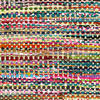 White Decorative Colorful Multicolored Chindi Woven Bohemian Boho Rag Rug - 3 X 5 ft to 8 X 10 ft 3