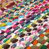 White Decorative Colorful Multicolored Chindi Woven Bohemian Boho Rag Rug - 3 X 5 ft to 6 X 9 ft 4