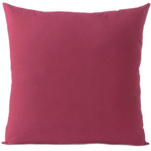 Burgundy Red Cotton Decorative Colorful Sofa Cushion Couch Pillow Throw Cover - 16 to 24""