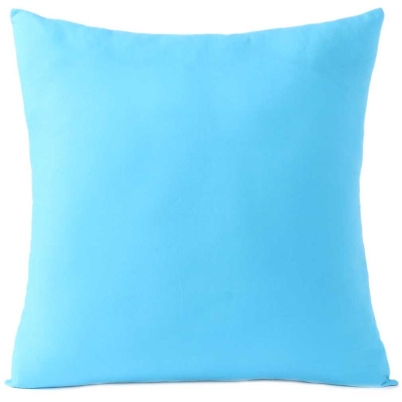 """Blue Decorative Colorful Cotton Couch Sofa Cushion Pillow Throw Cover - 16 to 24"""""""