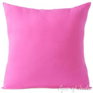 Pink Cotton Sofa Throw Pillow Decorative Colorful Couch Sofa Cushion Cover - 16 to 24""