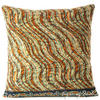 Colorful Kantha Decorative Throw Pillow Bohemian Boho Couch Cushion Cover - 16""