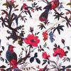 "White Velvet Colorful Decorative Bird Throw Sofa Boho Bohemian Cushion Couch Pillow Cover - 16, 24"" 2"