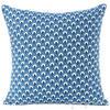 "Indigo Blue Colorful Decorative Sofa Throw Cushion Couch Bohemian Pillow Cover - 16"" 1"