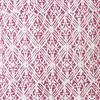 "Pink Printed Kantha Throw Couch Sofa Boho Pillow Bohemian Cushion Cover - 16, 24"" 2"