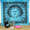Sun and Moon Boho Hippie Tapestry Wall Hanging Bohemian Bedspread - Large/Queen