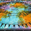 Colorful Tie Dye Hippie Sun and Moon Bohemian Boho Tapestry Hanging - Large/Queen 4