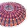 "Decorative Seating Boho Mandala Bohemian Round Floor Cushion Dog Bed Throw Meditation Pillow Cover - 32"" 2"