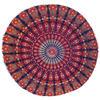 "Decorative Seating Boho Mandala Bohemian Round Floor Cushion Dog Bed Throw Meditation Pillow Cover - 32"" 4"