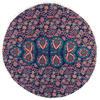 "Decorative Seating Boho Mandala Bohemian Round Floor Cushion Dog Bed Throw Meditation Pillow Cover - 32"" 6"