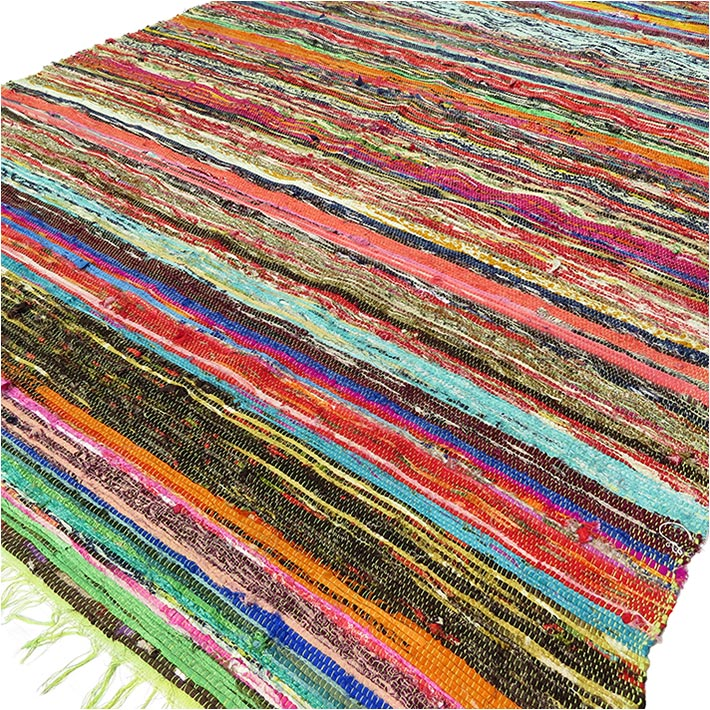 colorful area rugs green rag rug order green bohemian rug chindi 12630