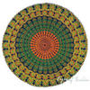"Mandala Hippie Boho Round Floor Meditation Pillow Cushion Seating Dog Bed Bohemian Throw Cover - 32"" 3"
