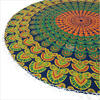 "Mandala Hippie Boho Round Floor Meditation Pillow Cushion Seating Dog Bed Bohemian Throw Cover - 32"" 4"