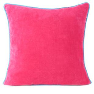 "Velvet Colorful Throw Sofa Cushion Couch Pillow Boho Bohemian Colorful Throw Cover - 16"""