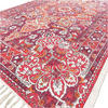 Burgundy Red Purple Persian Indian Oriental Print Area Accent Rug Carpet Antique Classical - 4 X 6 ft 3