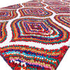 Multicolor Chindi Braided Colorful Woven Accent Area Rug Carpet - 3 X 5 ft 1