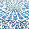 White Blue Elephant Mandala Bedspread Tapestry Art Beach Dorm - Small and Large 3