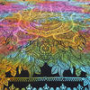 Queen Colorful Hamsa Hippie Peace Tapestry Bedspread Beach Boho Bohemian - Queen/Double 4