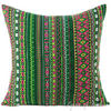 Colorful Striped Decorative Sofa Throw Pillow Cushion Cover Bohemian 16 to 24""